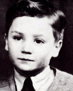 John Lennon as a child